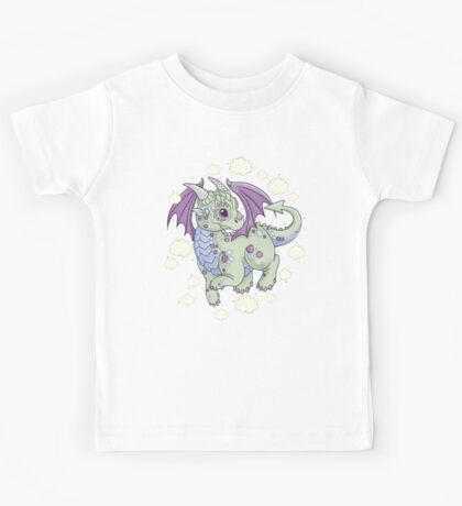 Dragon in the Clouds Kids Tee