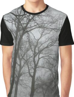 Trees in the Fog Graphic T-Shirt