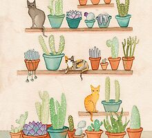 Cats and Cacti by Ryan Conners