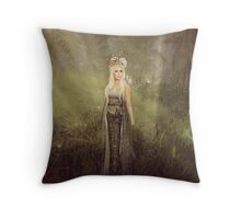Her Lady Throw Pillow