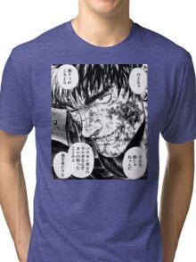 The black swordsman Tri-blend T-Shirt