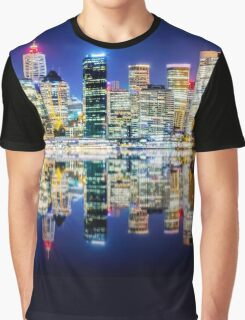 A view over Sydney Harbor Graphic T-Shirt