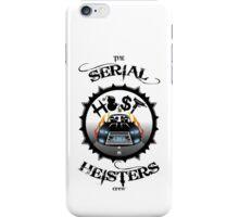 THE SERIAL HEISTERS CREW BLACK iPhone Case/Skin