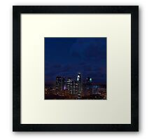 Late At Night In Los Santos - GTA V Framed Print