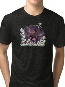 Am Actual Unicorn-Chocolate Tri-blend T-Shirt