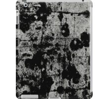 Textured Contrast 1 - Study In Black And White iPad Case/Skin