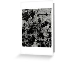 Textured Contrast 1 - Study In Black And White Greeting Card
