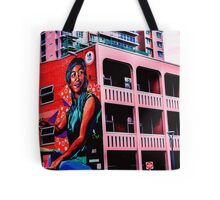 #StreetArt Light Square Tote Bag