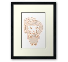 tweedledee Framed Print