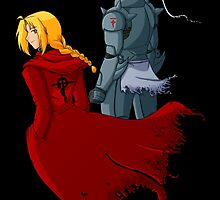 Elric Brothers by BarbaraJHarris