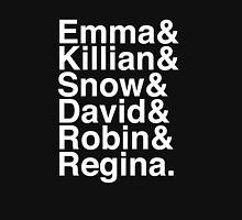 Emma & Killian & Snow & David & Robin & Regina. (OUAT) (Inverse) Unisex T-Shirt