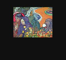'Promenade in Arles' by Vincent Van Gogh (Reproduction) Unisex T-Shirt