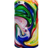 Rainbow Swirl iPhone Case/Skin