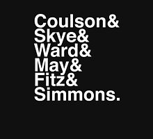 Coulson & Skye & Ward & May & Fitz & Simmons. (Agents of Shield) (Inverse) Unisex T-Shirt