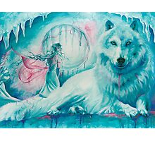 Wolf Dreaming Photographic Print