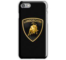 Lamborghini (T-shirt, Phone Case & more) iPhone Case/Skin