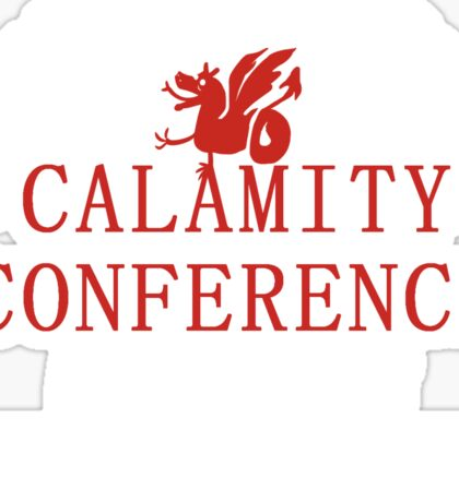 21's- Calamity Conference T-Shirt Sticker