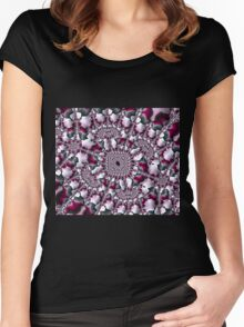 Rose Petals Women's Fitted Scoop T-Shirt