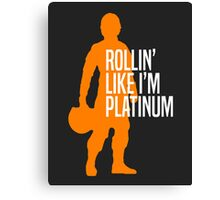 Luke Skywalker - Rollin' Like I'm Platinum Canvas Print