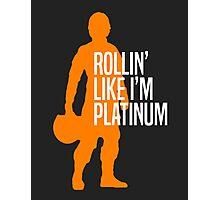 Luke Skywalker - Rollin' Like I'm Platinum Photographic Print