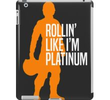 Luke Skywalker - Rollin' Like I'm Platinum iPad Case/Skin