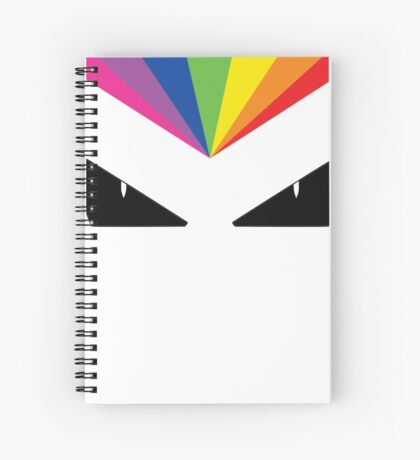 Colour Vision - Rainbow Eyes Spiral Notebook