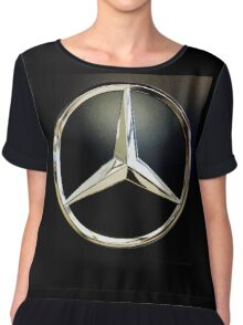 Mercedes-Benz Three Pointed Star Chiffon Top
