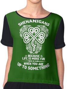 Shenanigans Chiffon Top