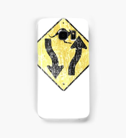 Kangaroo Sign - Urban Grunge Samsung Galaxy Case/Skin