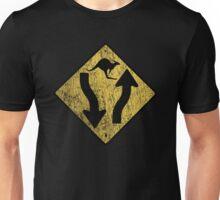 Kangaroo Sign - Urban Grunge Unisex T-Shirt