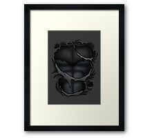 Knight Suit Framed Print