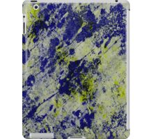 Textured Colour 2 - Study In Blue and Yellow iPad Case/Skin