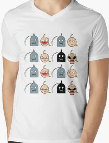 Ed and Al - Chibi expressions Mens V-Neck T-Shirt