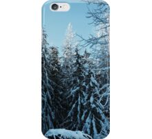 Frozen Trees iPhone Case/Skin