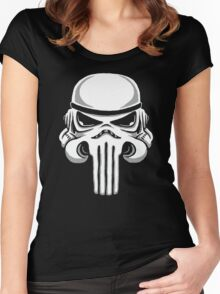Punish Trooper Women's Fitted Scoop T-Shirt