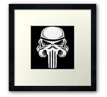 Punish Trooper Framed Print