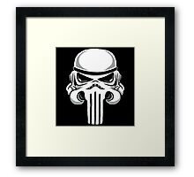 Punish Trooper Framed Print