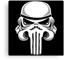 Punish Trooper Canvas Print