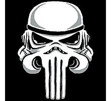 Punish Trooper Photographic Print