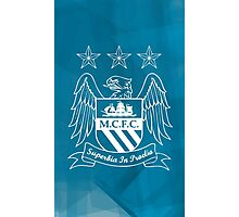 Tribute to Manchester City Photographic Print