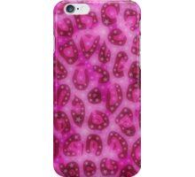 Pretty Pink Cheetah Gloss Pattern  iPhone Case/Skin
