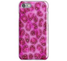Pretty Pink Cheetah Gloss Pattern  iPhone Case/Skin