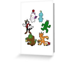 Final Fantasy Greeting Card
