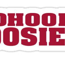 Hoo Hoo Hoo Hoosiers Sticker