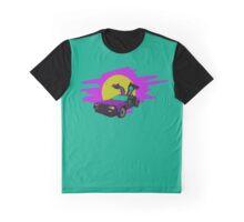 Retro Delorean Graphic T-Shirt