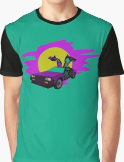 Retro Delorean Graphic T-Shirt
