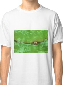 frog and lily pad Classic T-Shirt