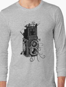Retro Rolleiflex - Evolution of Photography - Vintage Long Sleeve T-Shirt