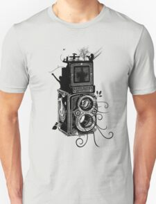 Retro Rolleiflex - Evolution of Photography - Vintage Unisex T-Shirt