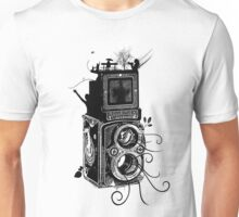 Retro Rolleiflex - Evolution of Photography - Vintage Unisex T-Shirt